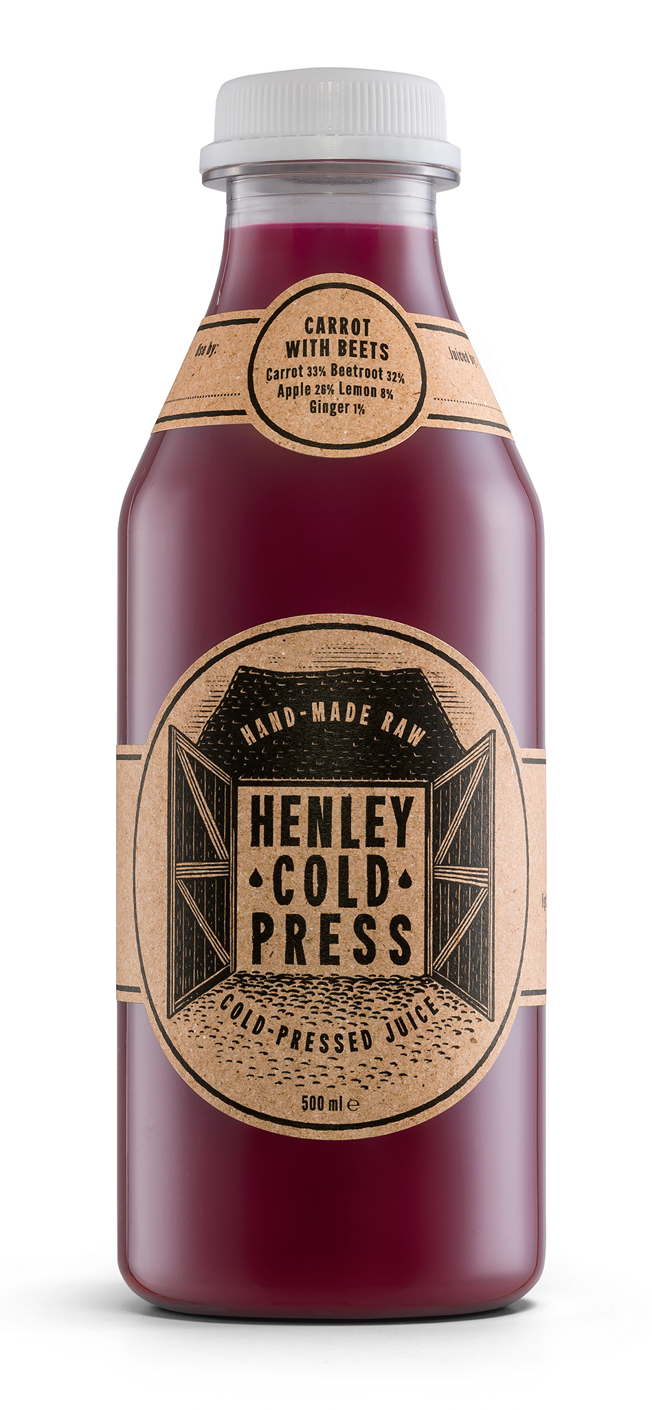 Henley Cold Press Carrots With Beets Bottle