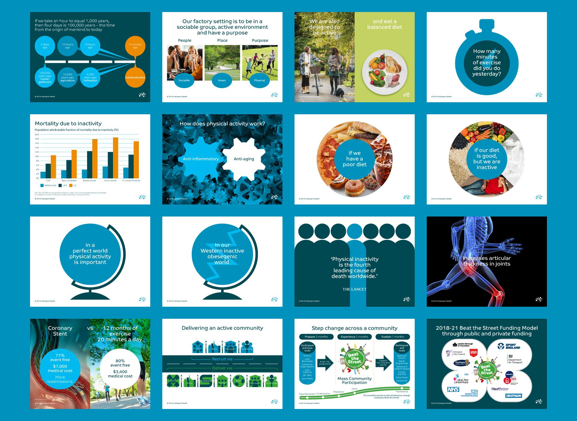 Intelligent Health Website Digital PowerPoint