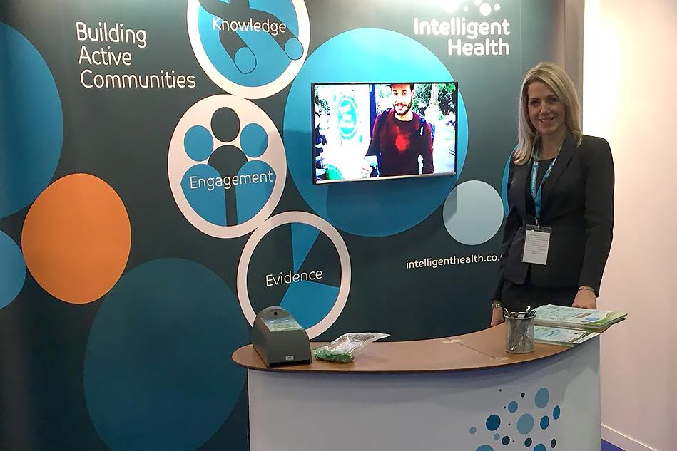 Intelligent Health Exhibition Stand