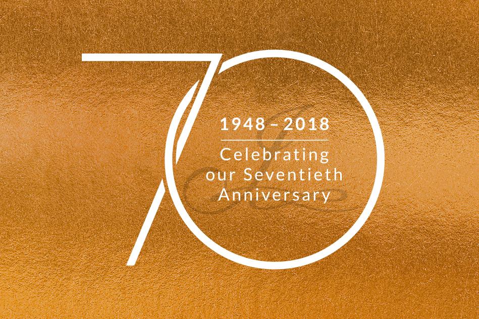 Jacobs 70th Anniversary Logo