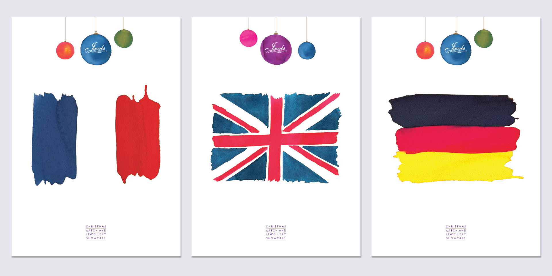 Jacobs Christmas 2015 Exhibition Posters