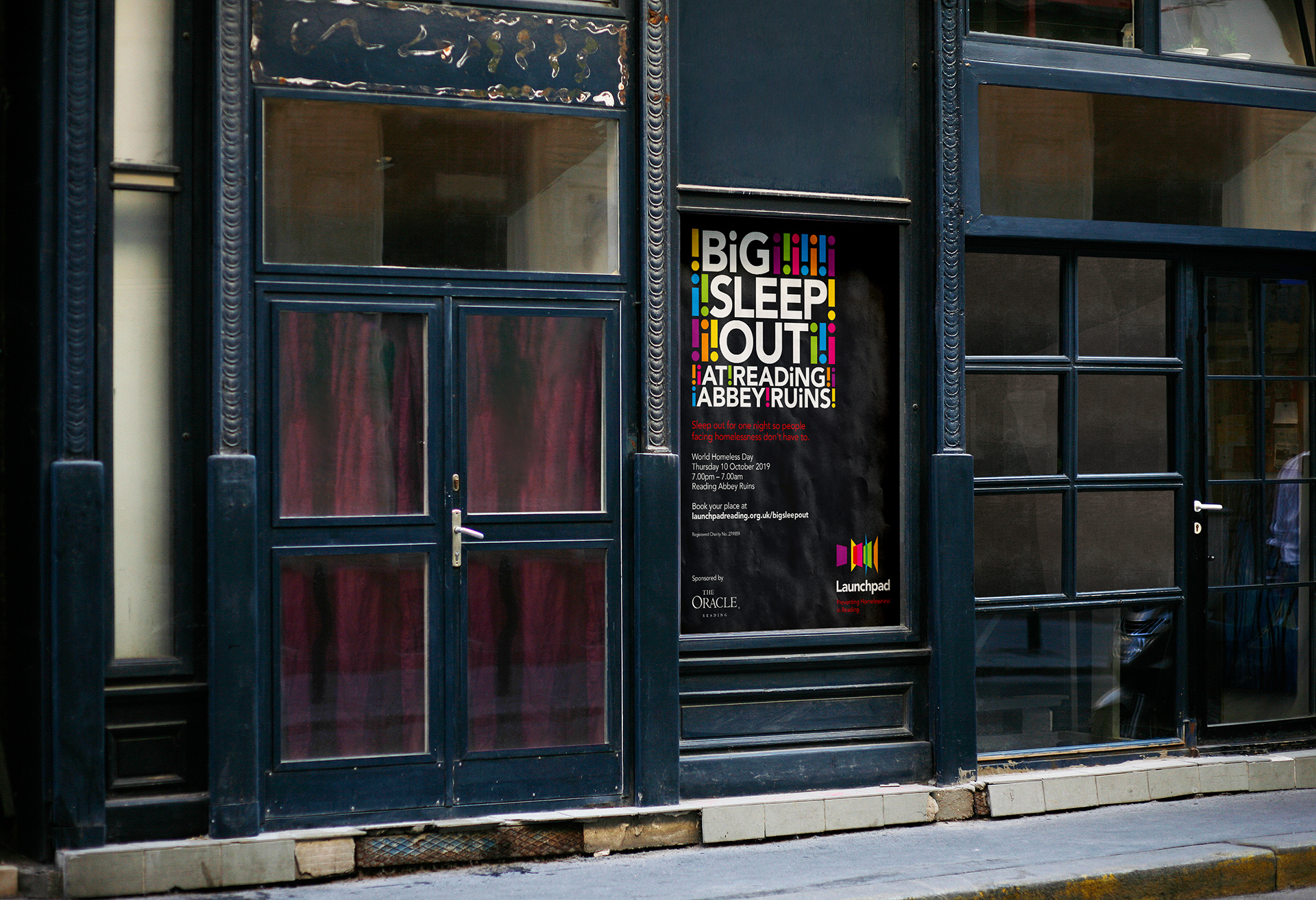 Launchpad Big Sleep Out 2019 Poster