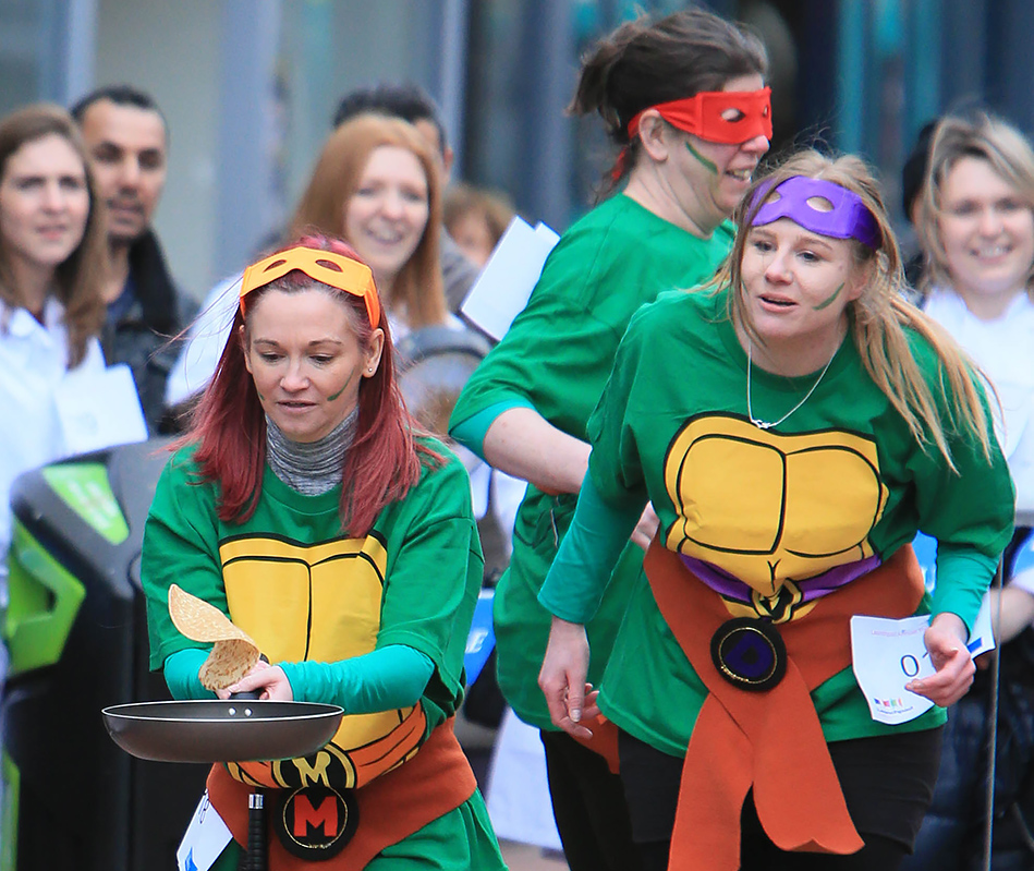 Launchpad Pancake Race Photo