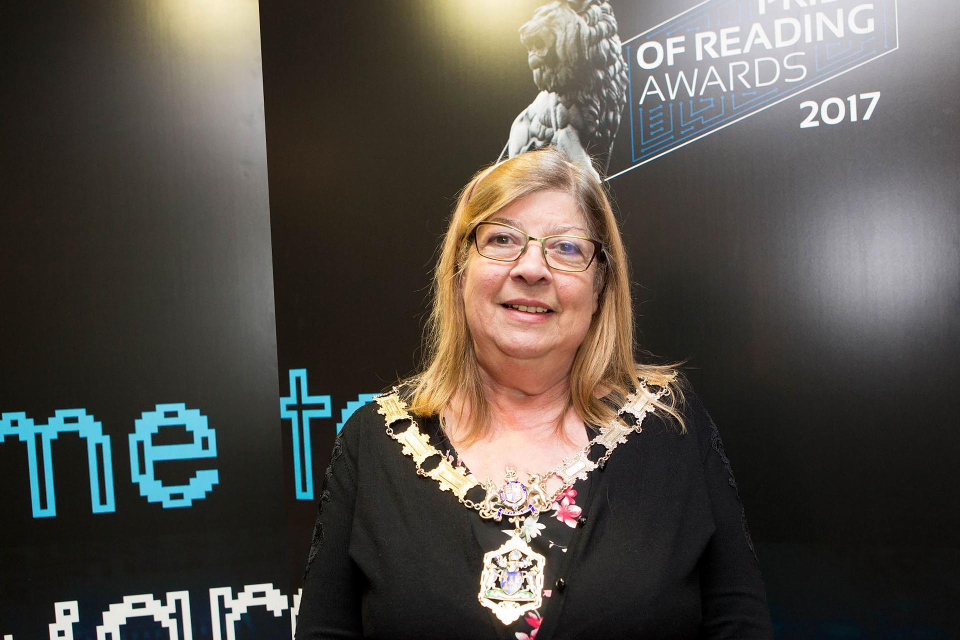 Pride of Reading Awards 2017 Backdrop