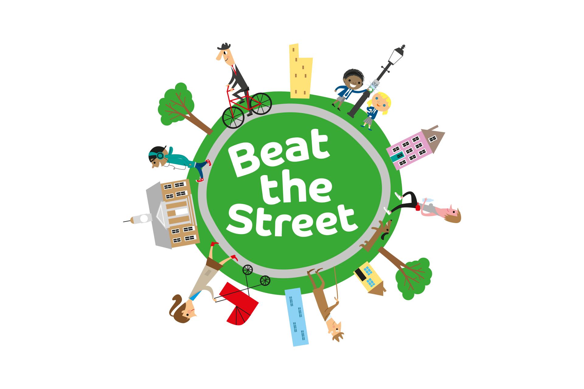 Beat The Street Logo Design