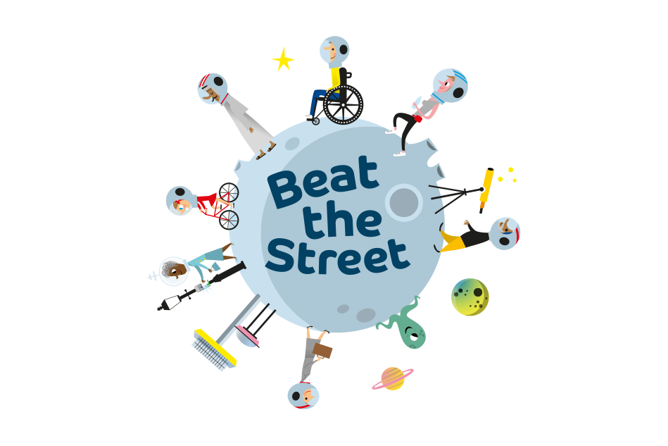 Beat The Street Space Logo