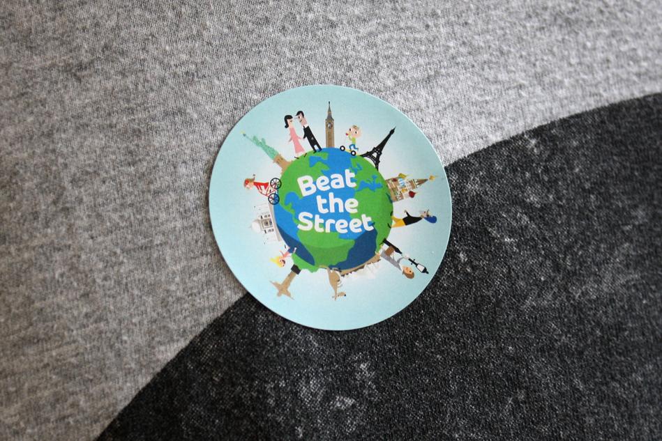 Beat The Street Sticker Design