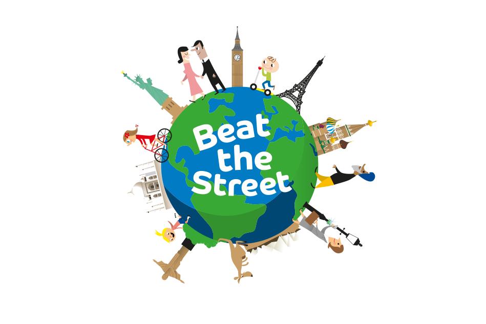 Beat The Street World Logo