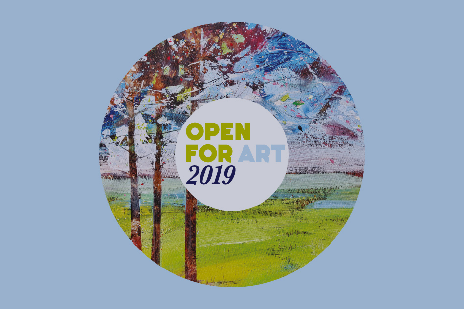 Open for Art 2019 Logo