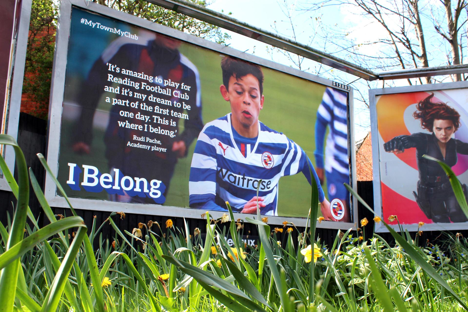 Reading FC Billboard