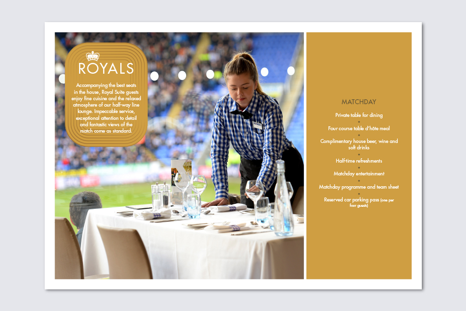 Reading FC Hospitality Brochure