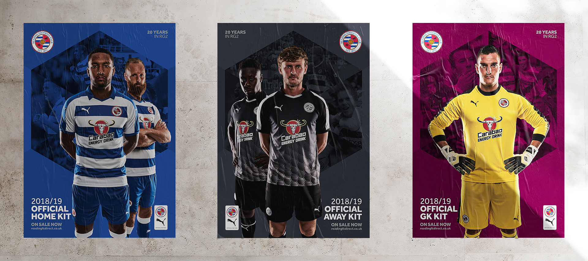 Reading FC Kit Posters