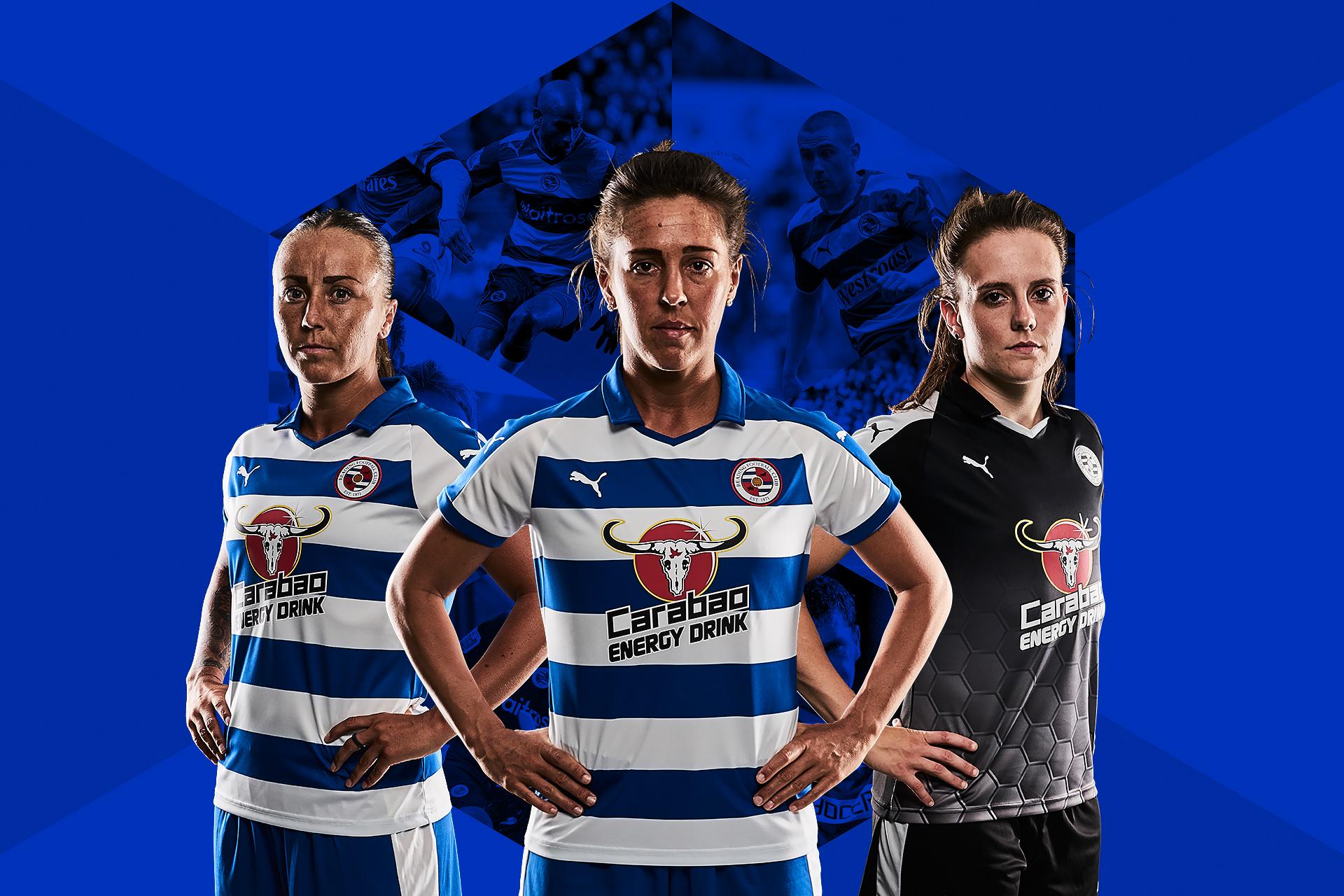Reading FC Women Kit Graphic