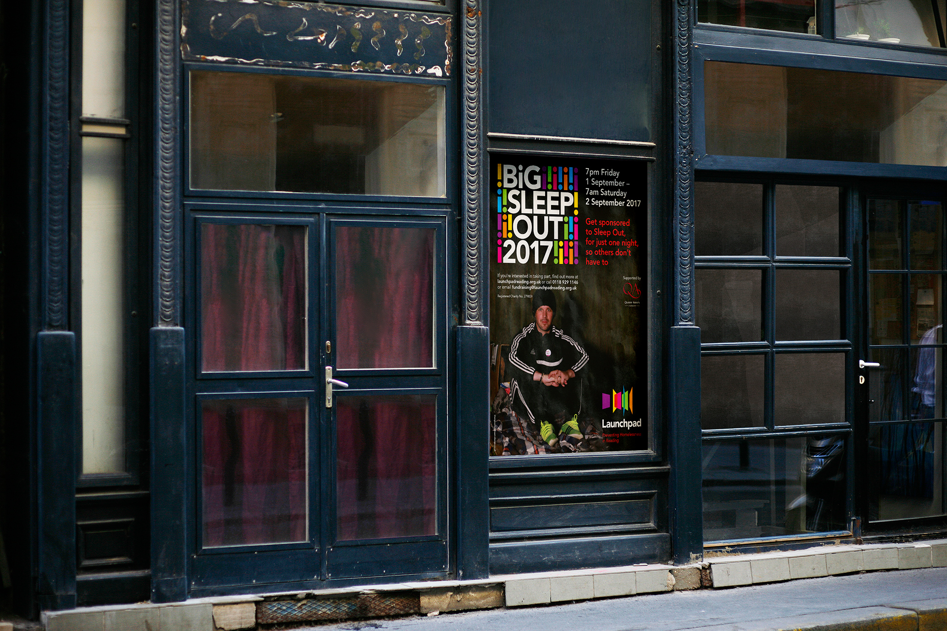 Launchpad Big Sleep Out Poster