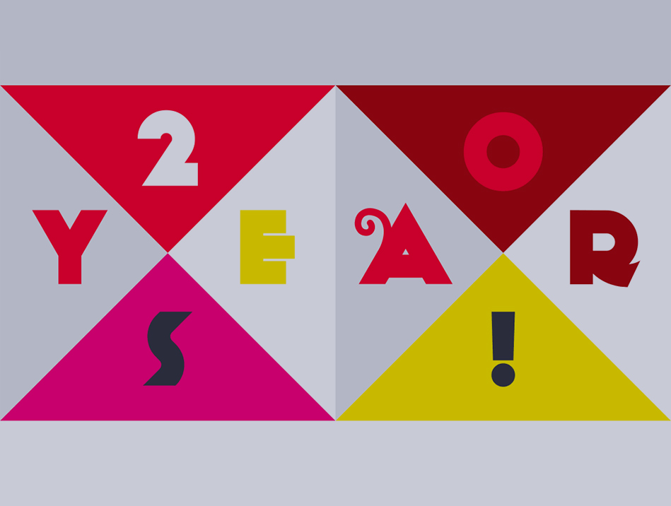 Cream Design 20 Year Animation