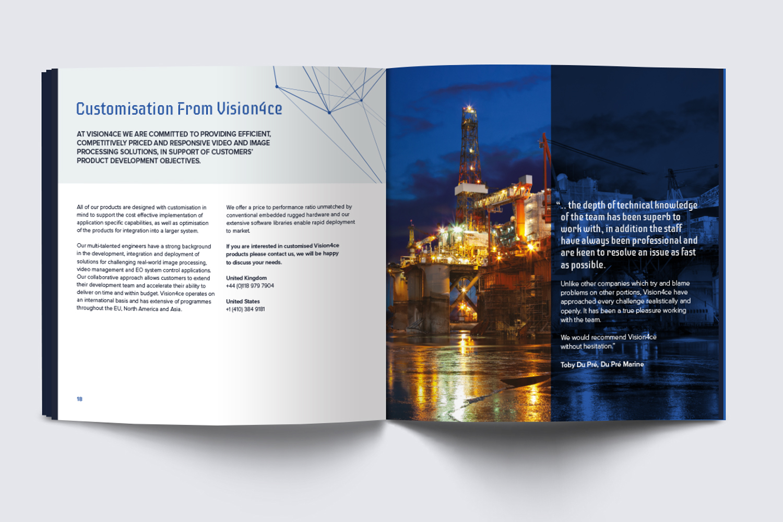 Vision4ce Brochure Spread