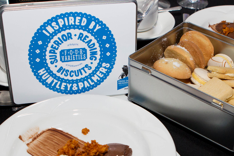 Pride of Reading Awards 2015 Biscuit Tin