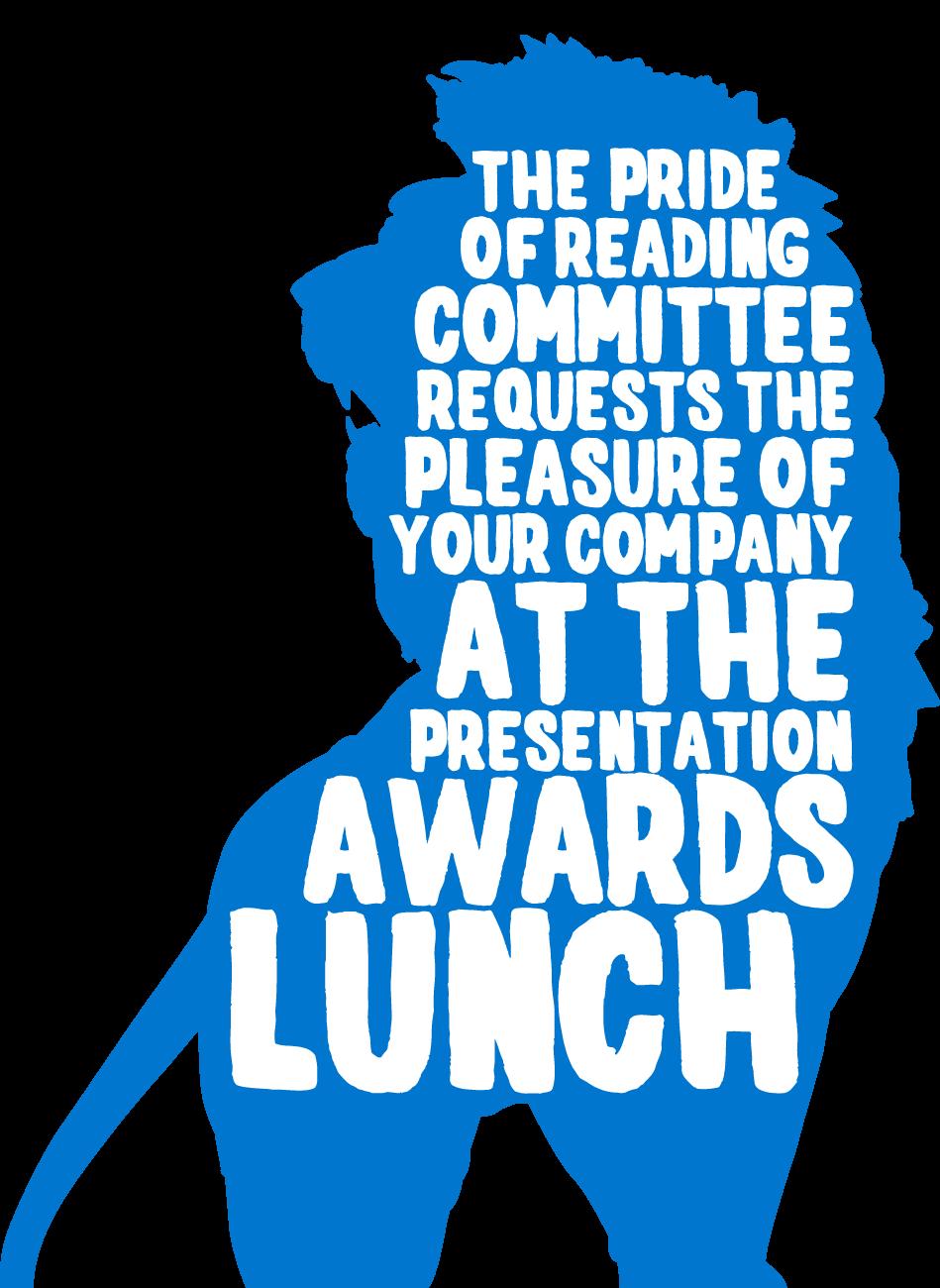 Pride of Reading Awards 2015 Invitation