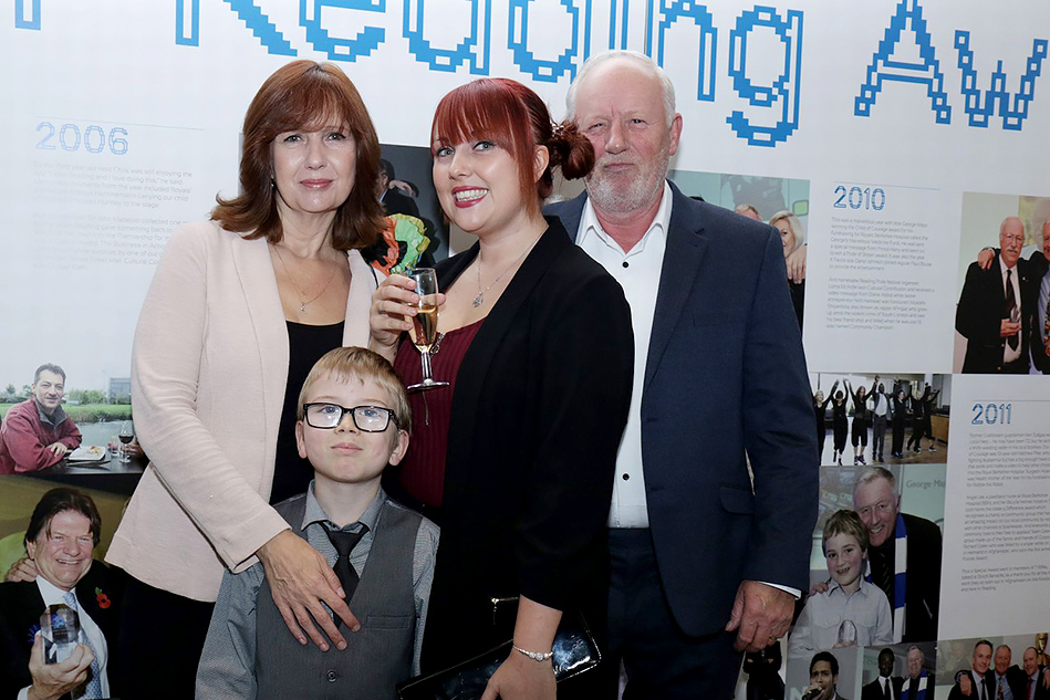 Pride of Reading Awards 2017 History Exhibition