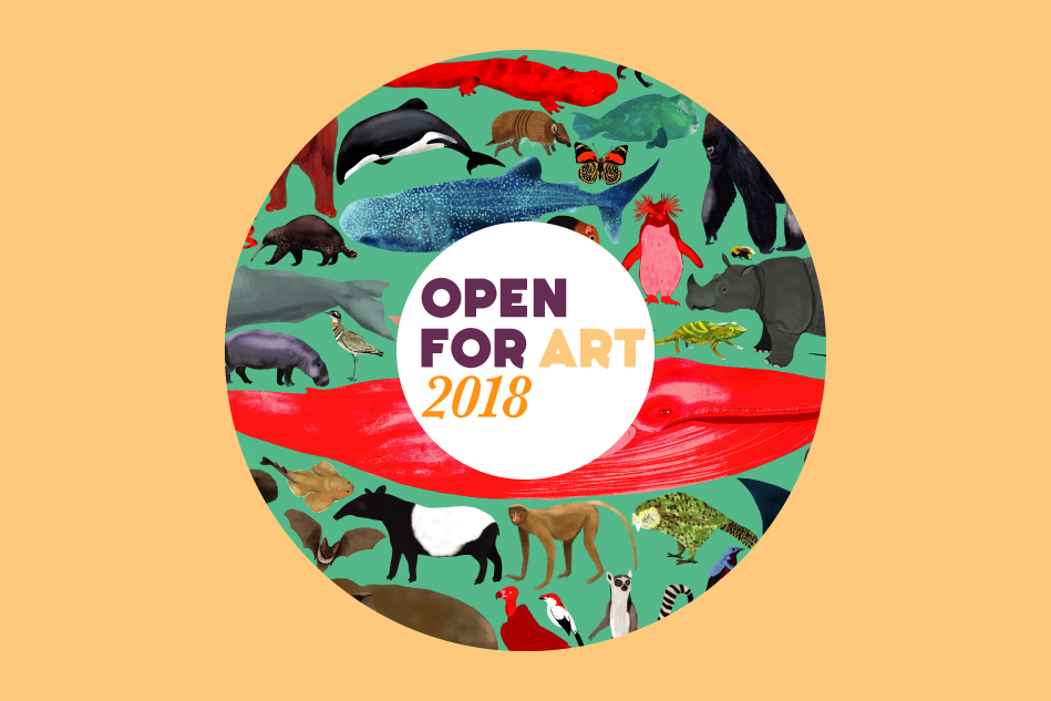 Open For Art Logo