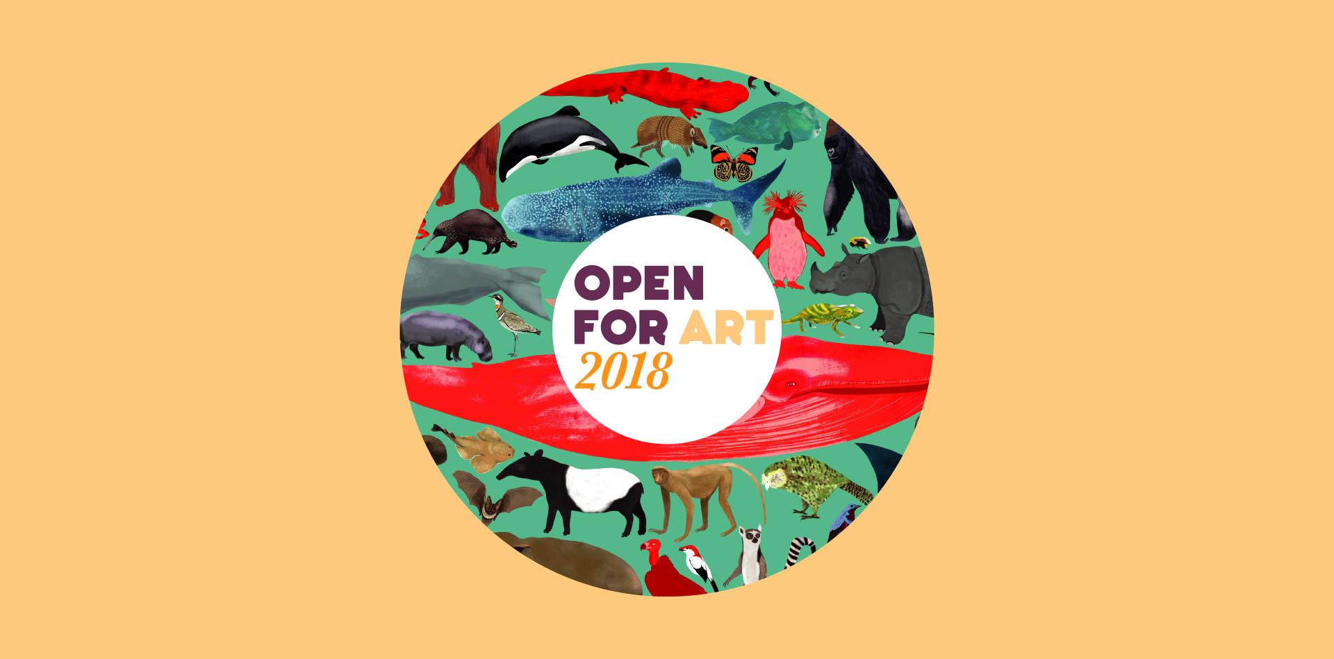 Open For Art Logo