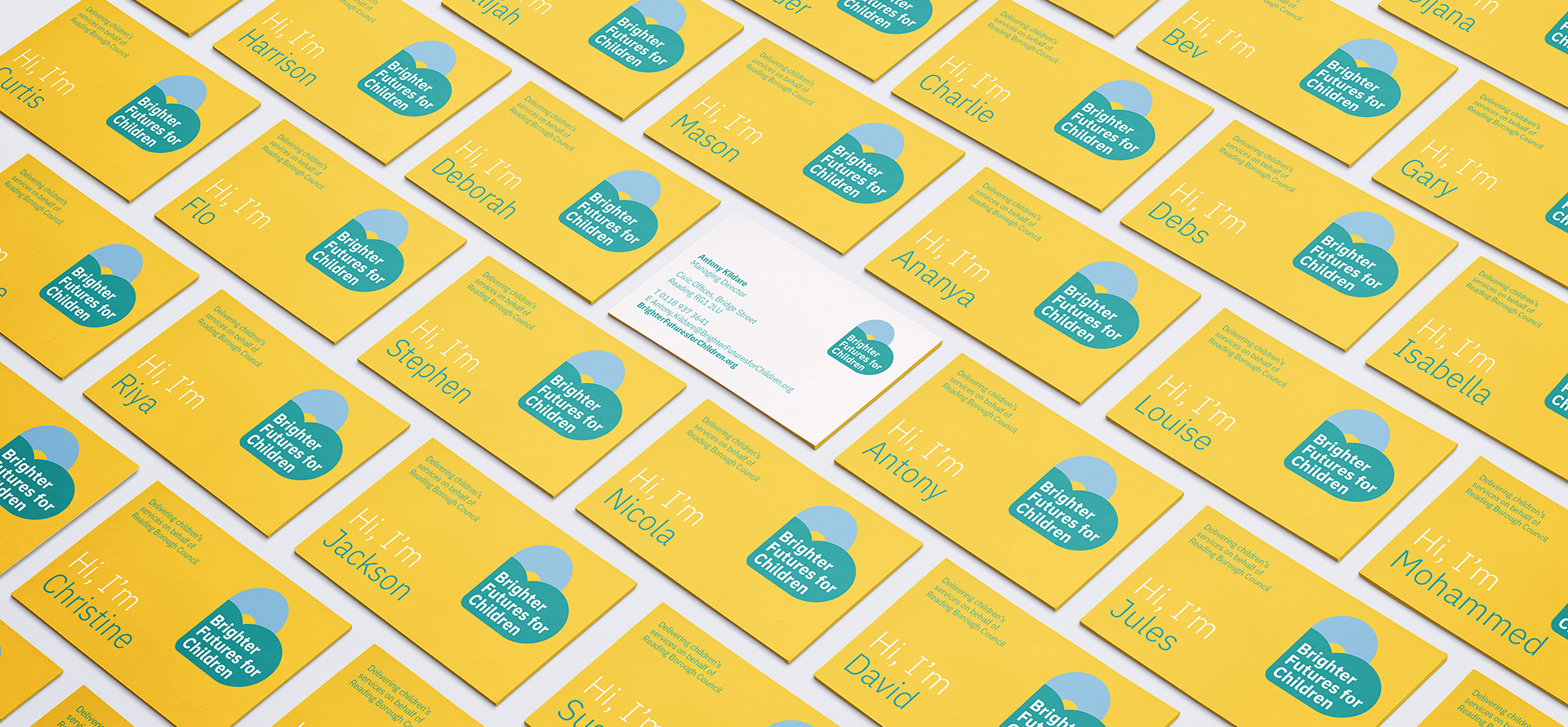 Brighter Futures business cards