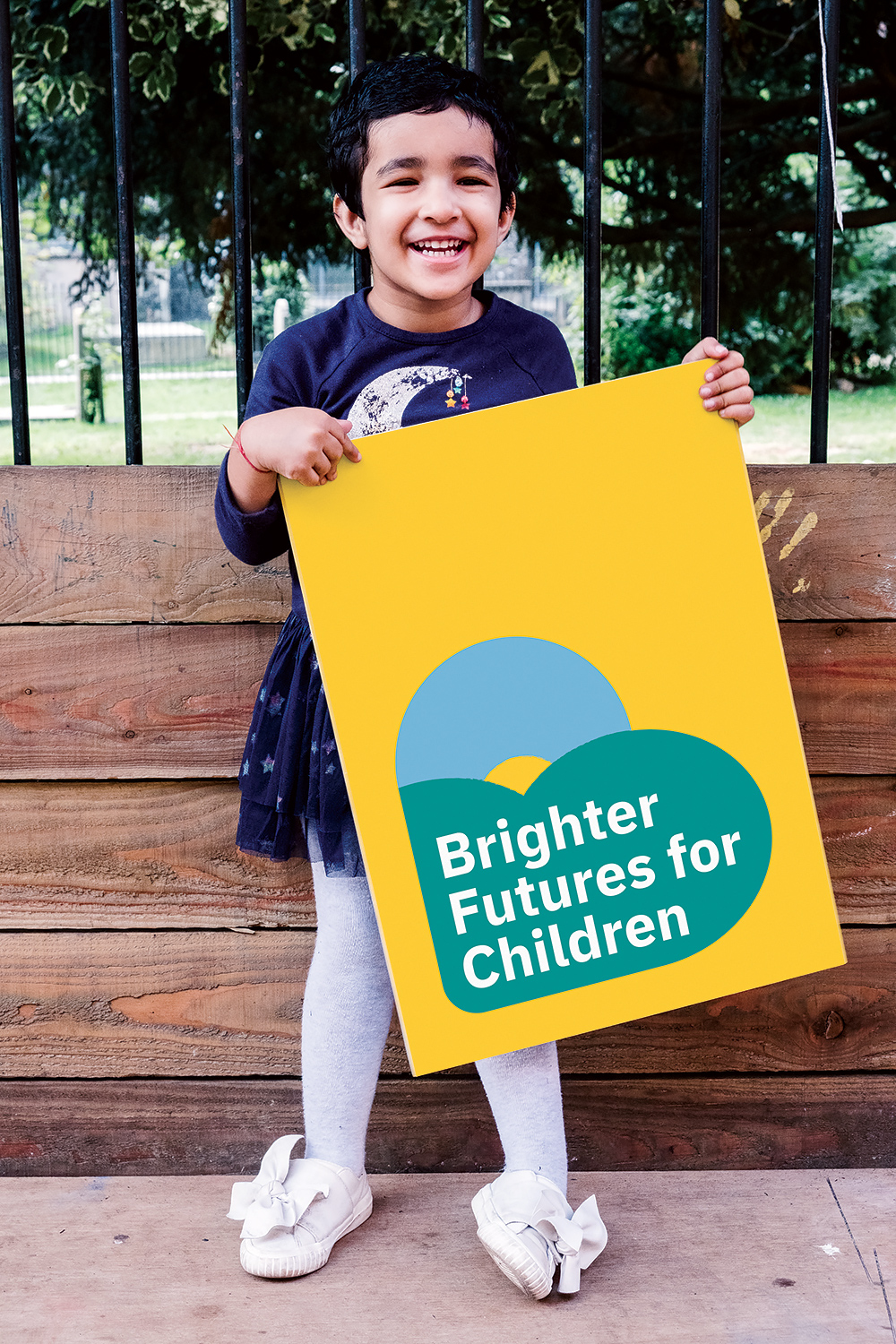 Brighter Futures logo photography