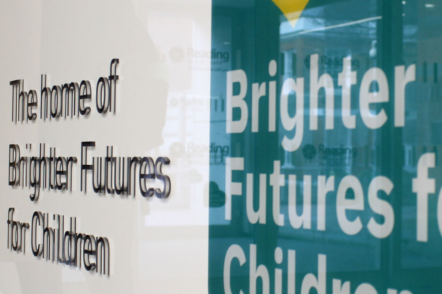 Brighter Futures internal signage