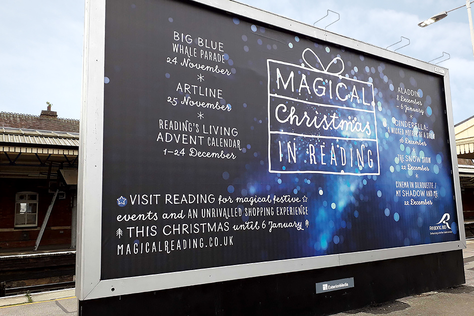 Magical Reading 48 Sheet advertisement