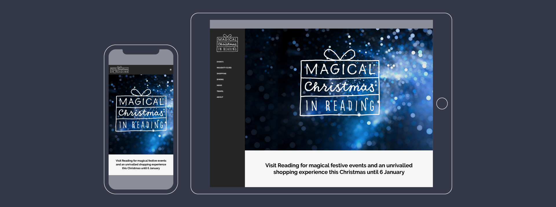Magical Reading website