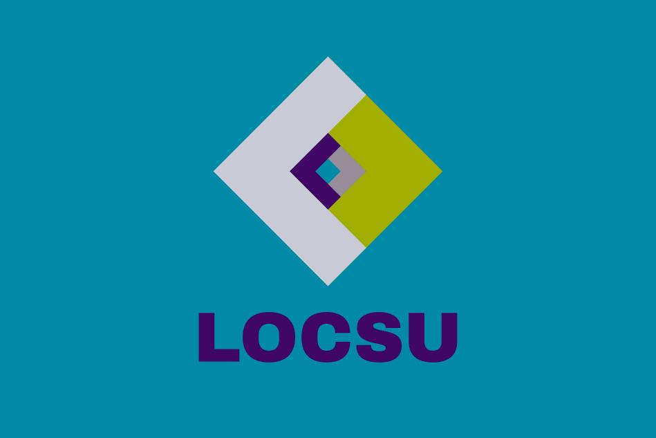 LOCSU logo design