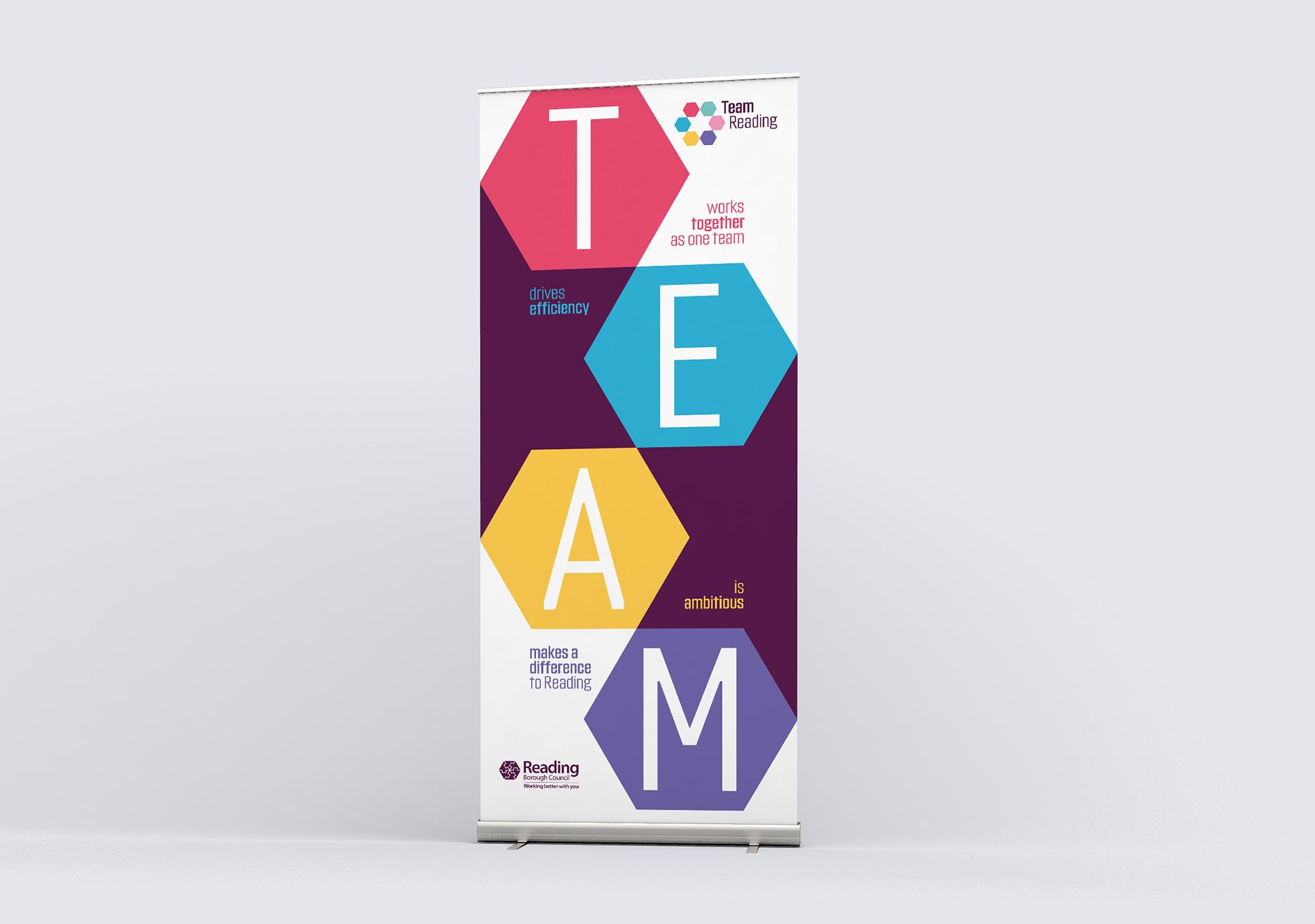 Team Reading banner