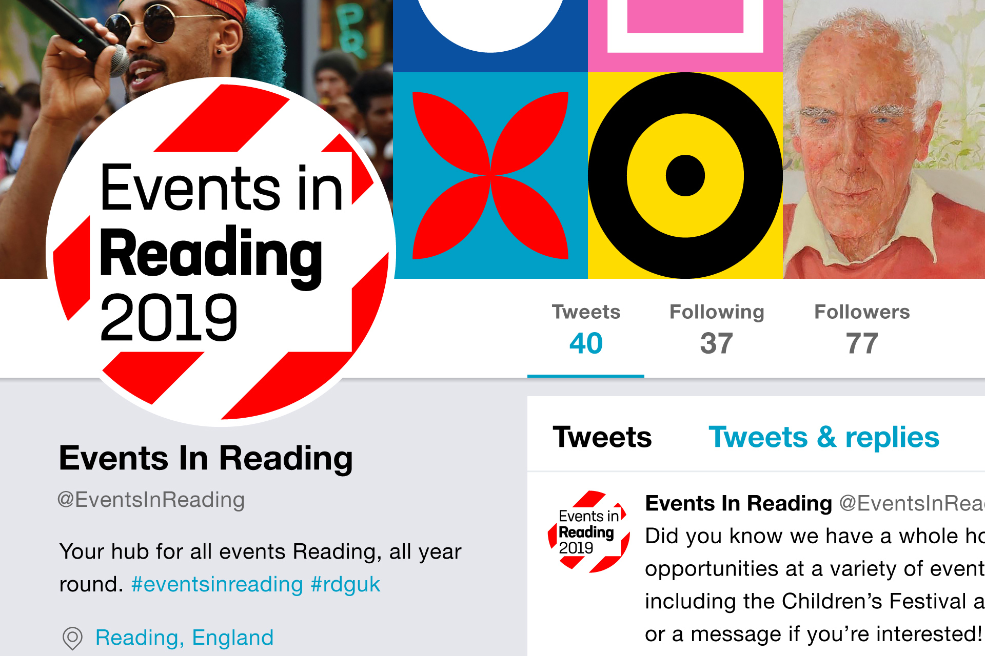 Events in Reading Twitter